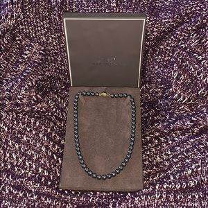 "Jewelry - Genuine Black Tahitian South Sea ""AA"" Pearl Strand"
